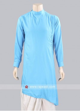 Round Neck Kurta For Mens
