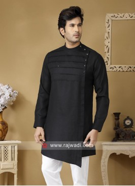 Round Neck Kurta For Party