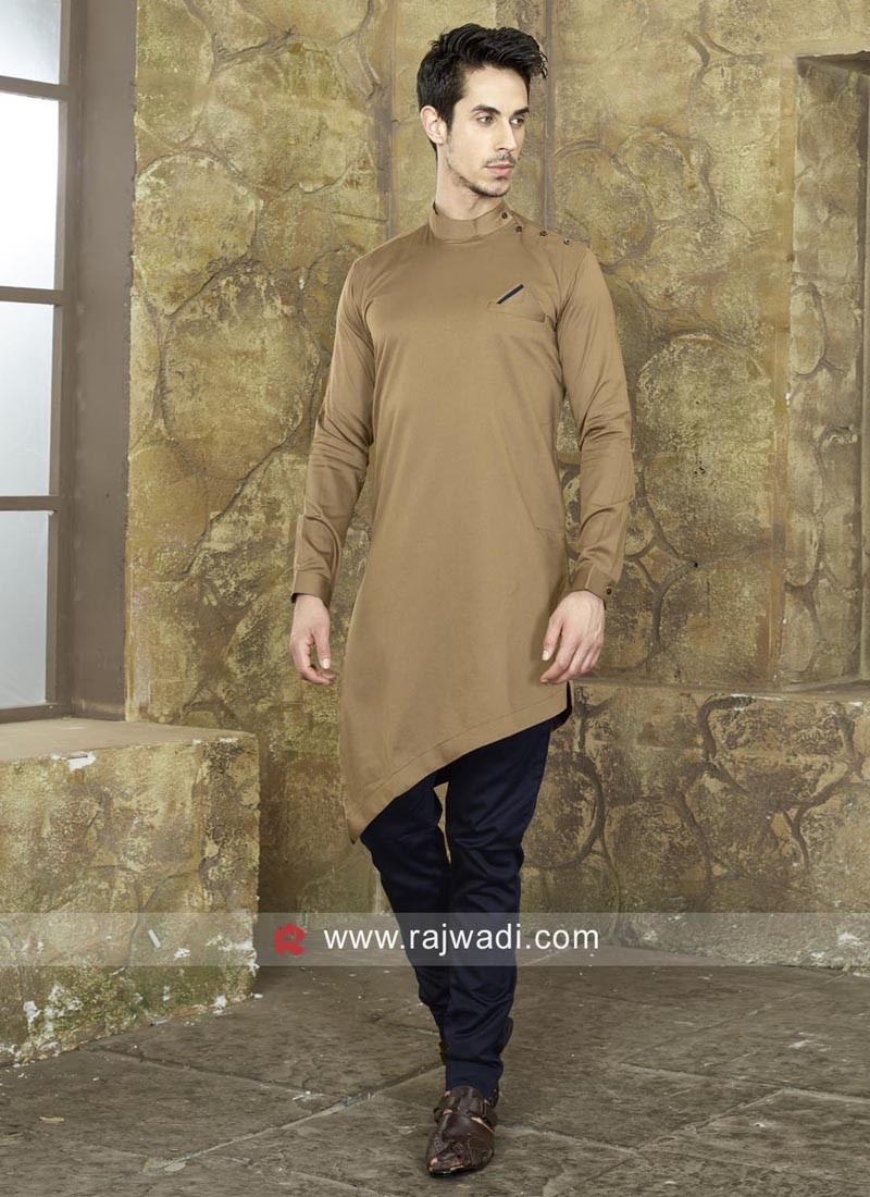 Round Neck Pathani For Eid
