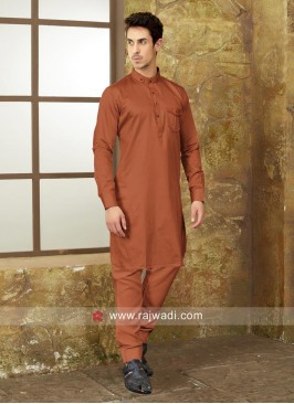 Round Neck Pathani Set For Party