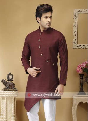 Beautiful Maroon Color Kurta