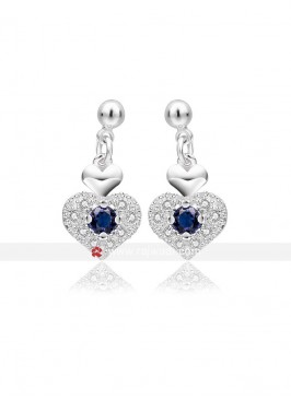Royal Appealing Heart Earrings