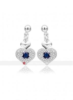Royal Appealing Heart Earrings