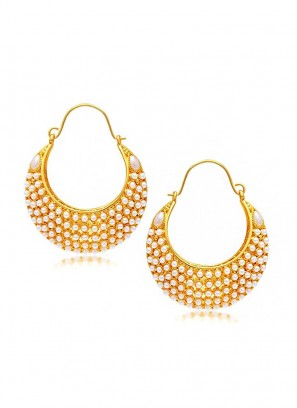 Royal Bling Traditional Pearl Bali Earrings
