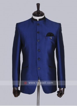 Royal blue Jodhpuri Suit