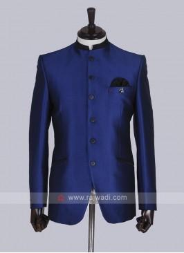 Royal blue Jodhpuri Suit