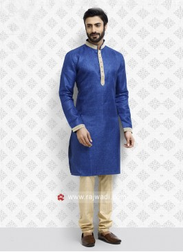 Royal Blue Kurta Pajama
