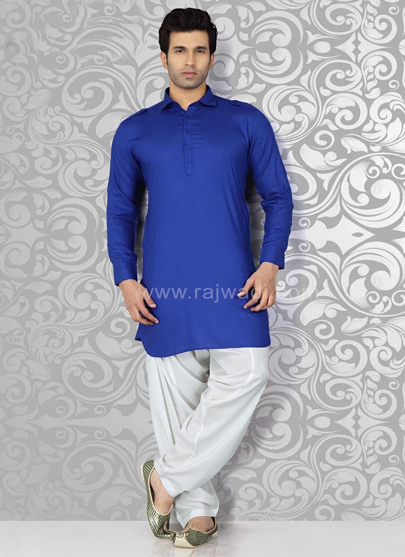 Royal Blue Pathani Suit