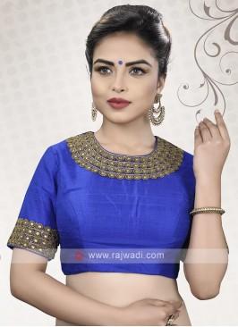 Royal Blue Ready Choli
