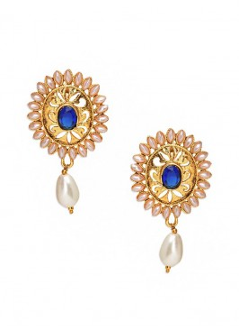 Royal Blue Sunshine Earrings
