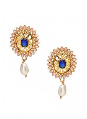 Royal Blue Sunshine Earrings