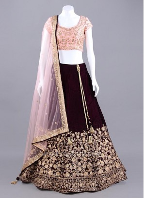Royal Heavy Embroidered Choli Suit