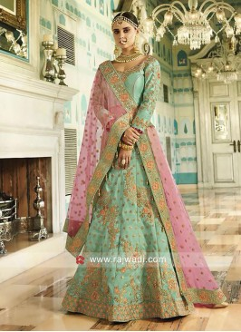 Royal Heavy Embroidery Lehenga with Border