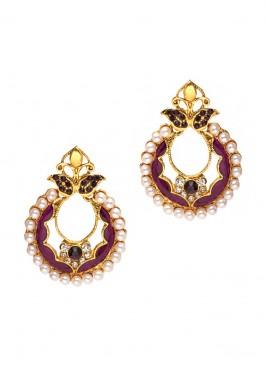 Royal Lavender Glorious Earrings