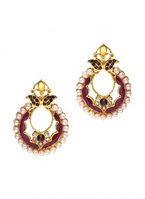 Royal Lavender Glorious Earrings