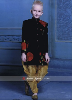 Royal Look Art Silk Fabric Indo Western