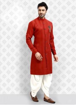 Royal look Rust Color Kurta Pajama