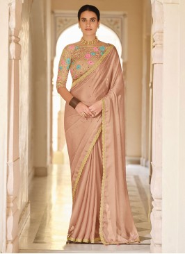 Royal Organza Sequins Classic Designer Saree