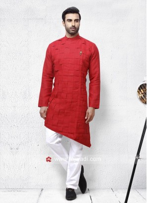 Rust Color Pathani Set