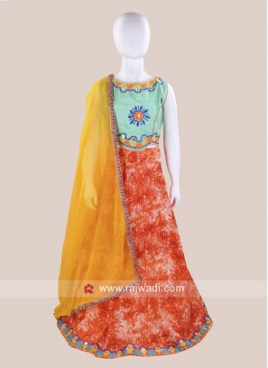 Satin Silk Chaniya Choli