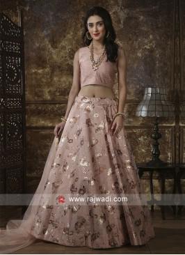 Satin Silk Designer Lehenga Choli