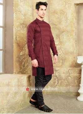 Satin Silk Fabric Kurta Set