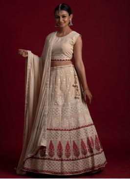 Savory Thread Readymade Lehenga Choli