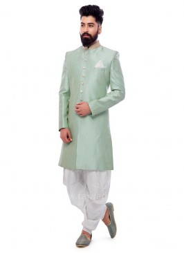 Sea Green Color Patiala Suit