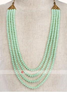 Sea Green Color Wedding Mala
