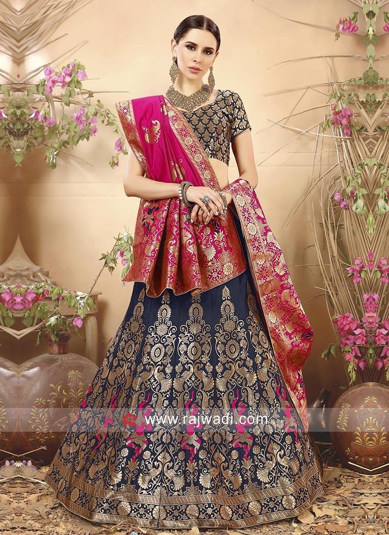Semi Stitched Designer Lehenga Choli