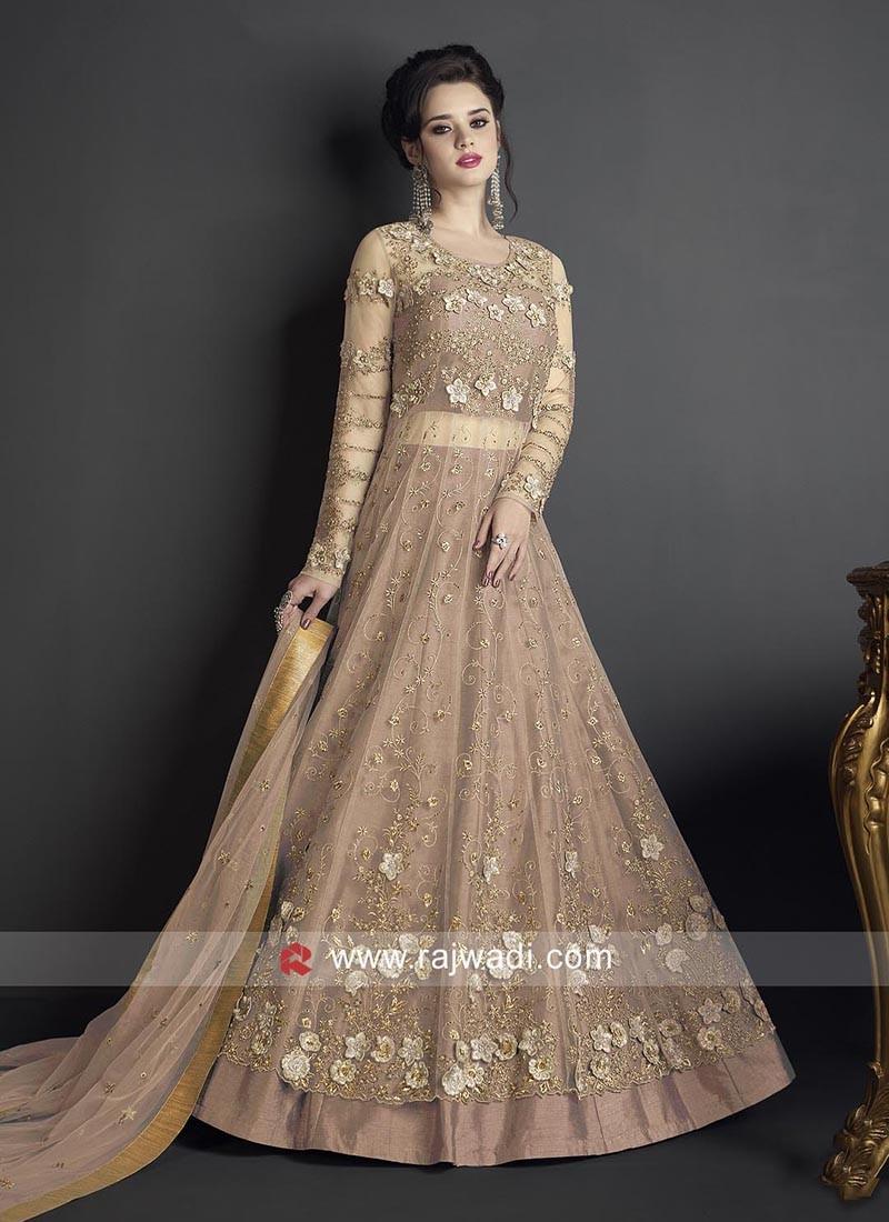 Semi Stitched Designer Salwar Kameez