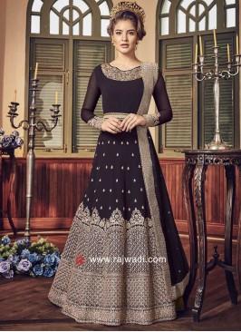 Semi Stitched Heavy Salwar Suit