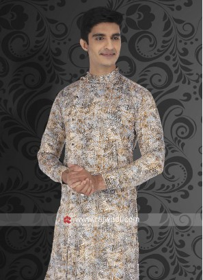 Charming Light Brown Color Kurta