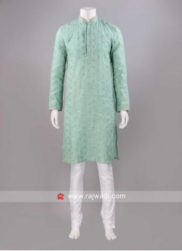 Sequins Work Kurta Pajama