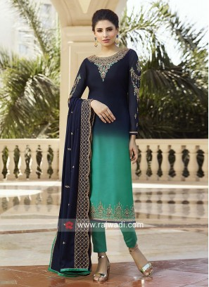 Shaded Heavy Salwar Kameez for Eid