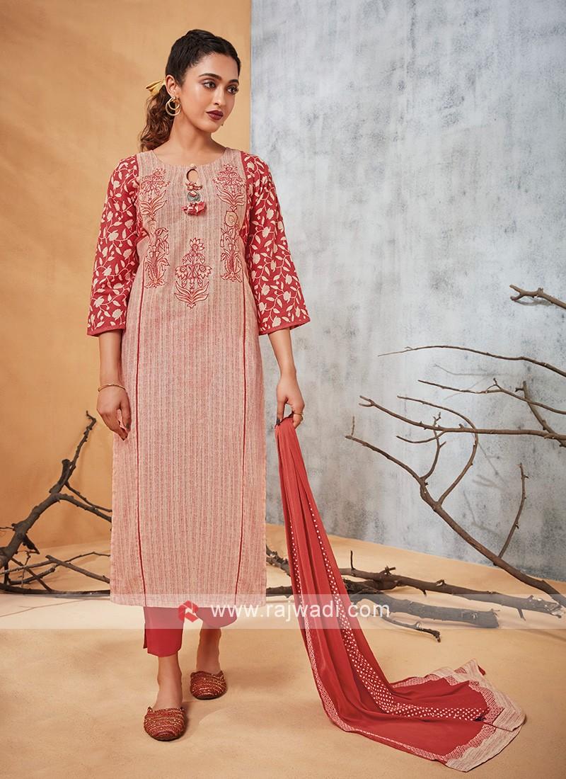 Shagufta Cotton Salwar Kameez