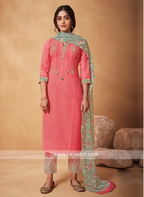 Shagufta Floral Printed Suit