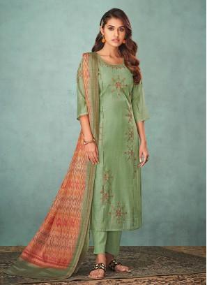 Shagufta Resham Work Salwar Suit