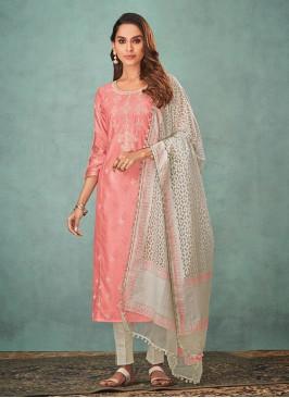 Shagufta Thread Work Salwar Suit