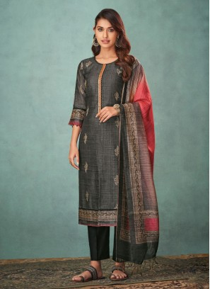 Shagufta Zari Work Salwar Suit