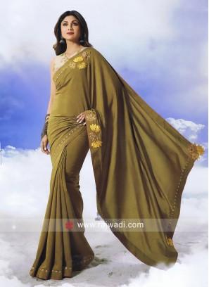 Shilpa Shetty Art Silk Saree with Blouse
