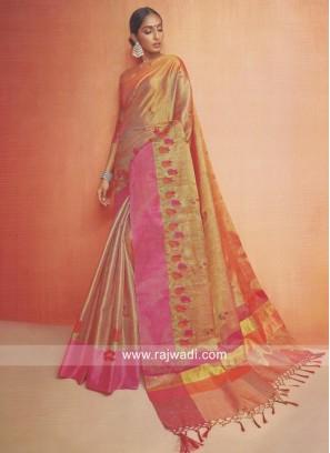 Shimmer Kota Silk Wedding Saree