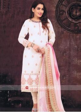 Shimmer Silk Pink Salwar Kameez