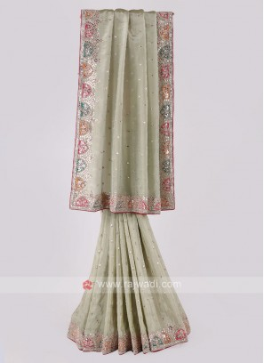 Shimmer Silk Saree