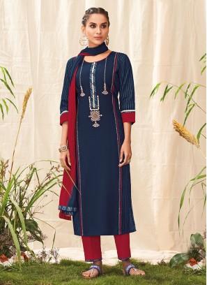 Shugufta Simple Cotton Salwar Suit