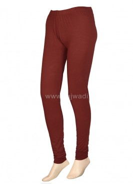Sienna Colour Leggings In Hosiery