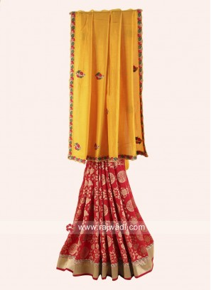 Silk and Banarasi Silk Half Saree