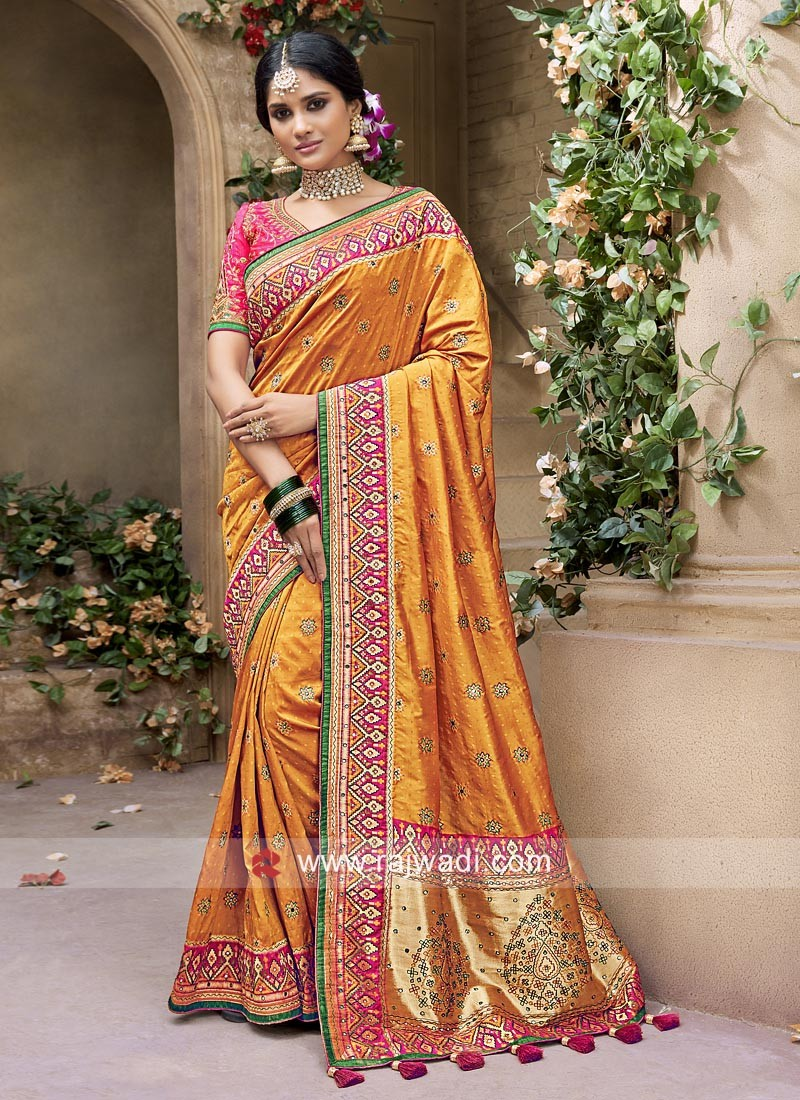 Silk and Banarasi Silk Saree