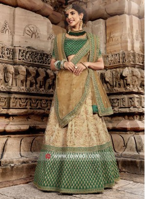 Silk Fabric Lehenga Set