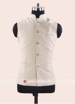Silk Cream Color Koti